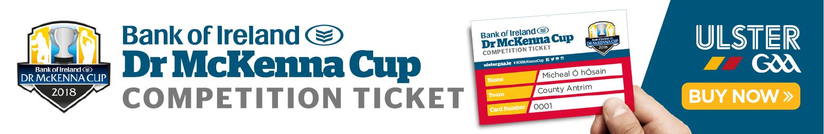 McKenna Cup 2018