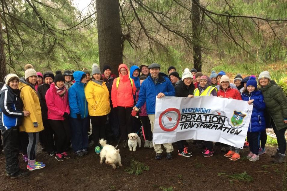 Warrenpoint 'Gael Active' GAA Club get behind Operation Transformation