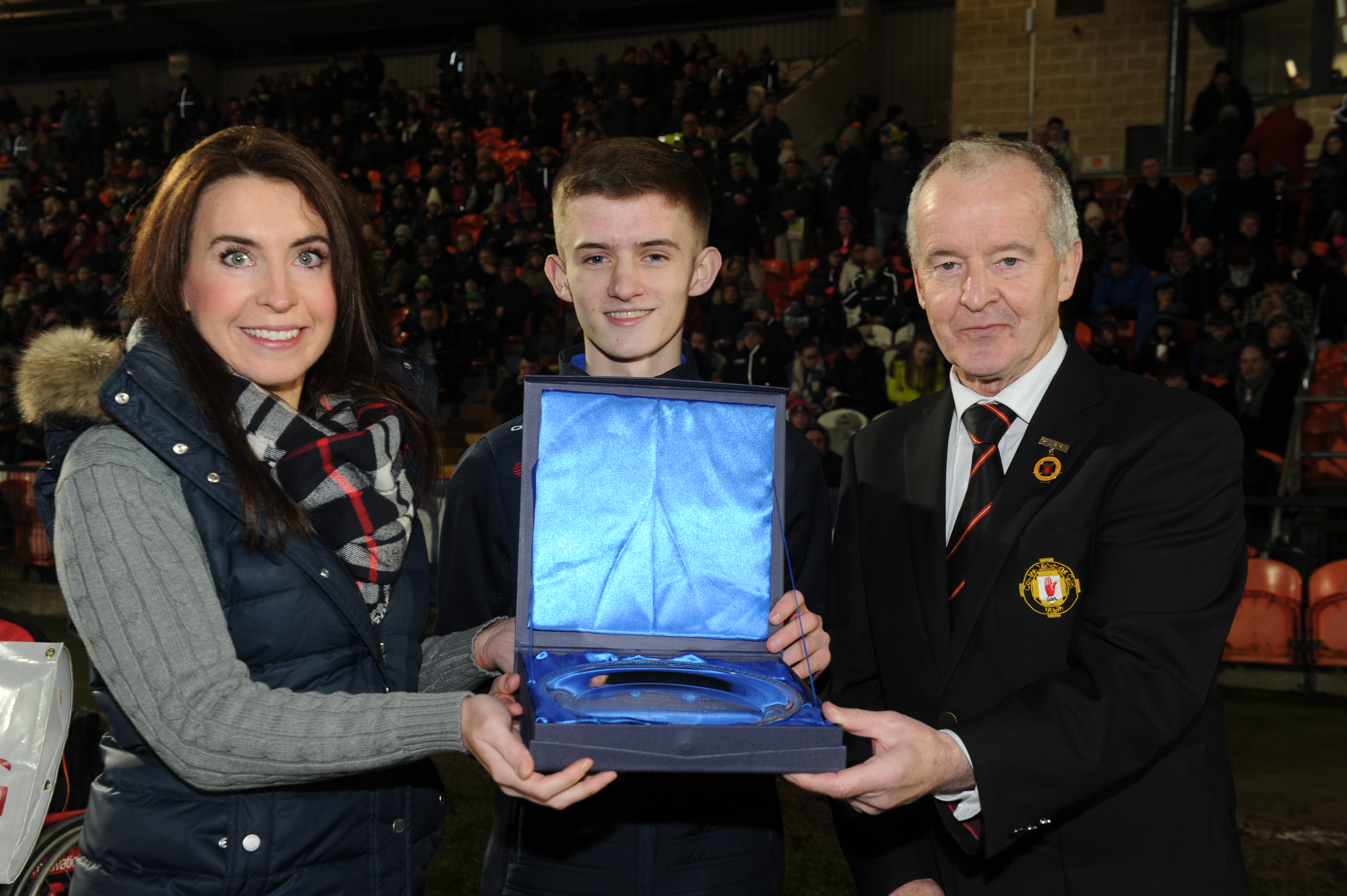 St. Galls GAA player wins Translink Ulster GAA Young Volunteer of the Year Award