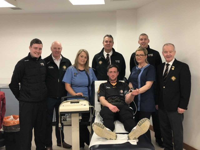 referee health checks take place in garvaghey cumann l thchleas gael uladh cumann l thchleas. Black Bedroom Furniture Sets. Home Design Ideas