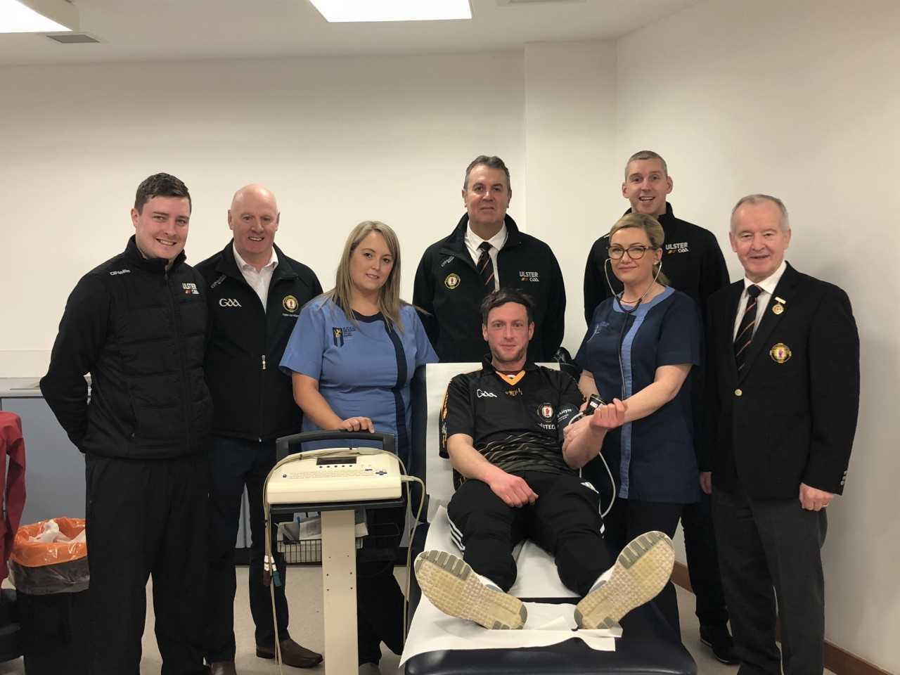 Referee Health Checks take place in Garvaghey