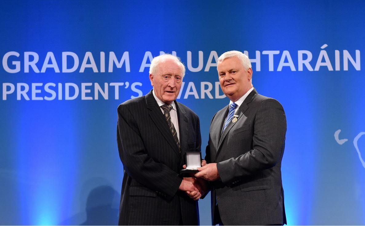 Ulster Gaels win prestigious awards at Gradaim an Uachtaráin 2018