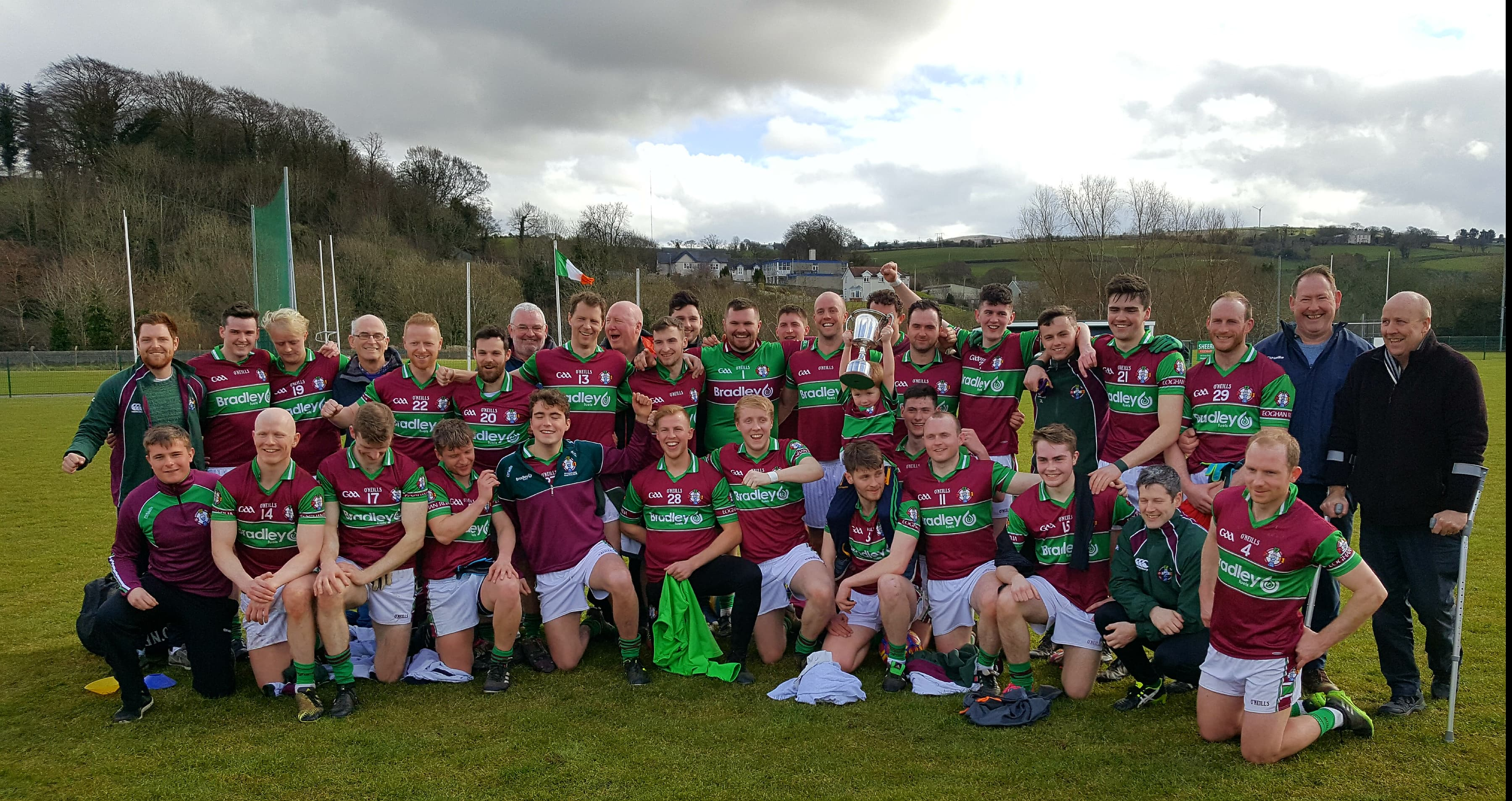 Ulster Football Club Leagues Winners 2018