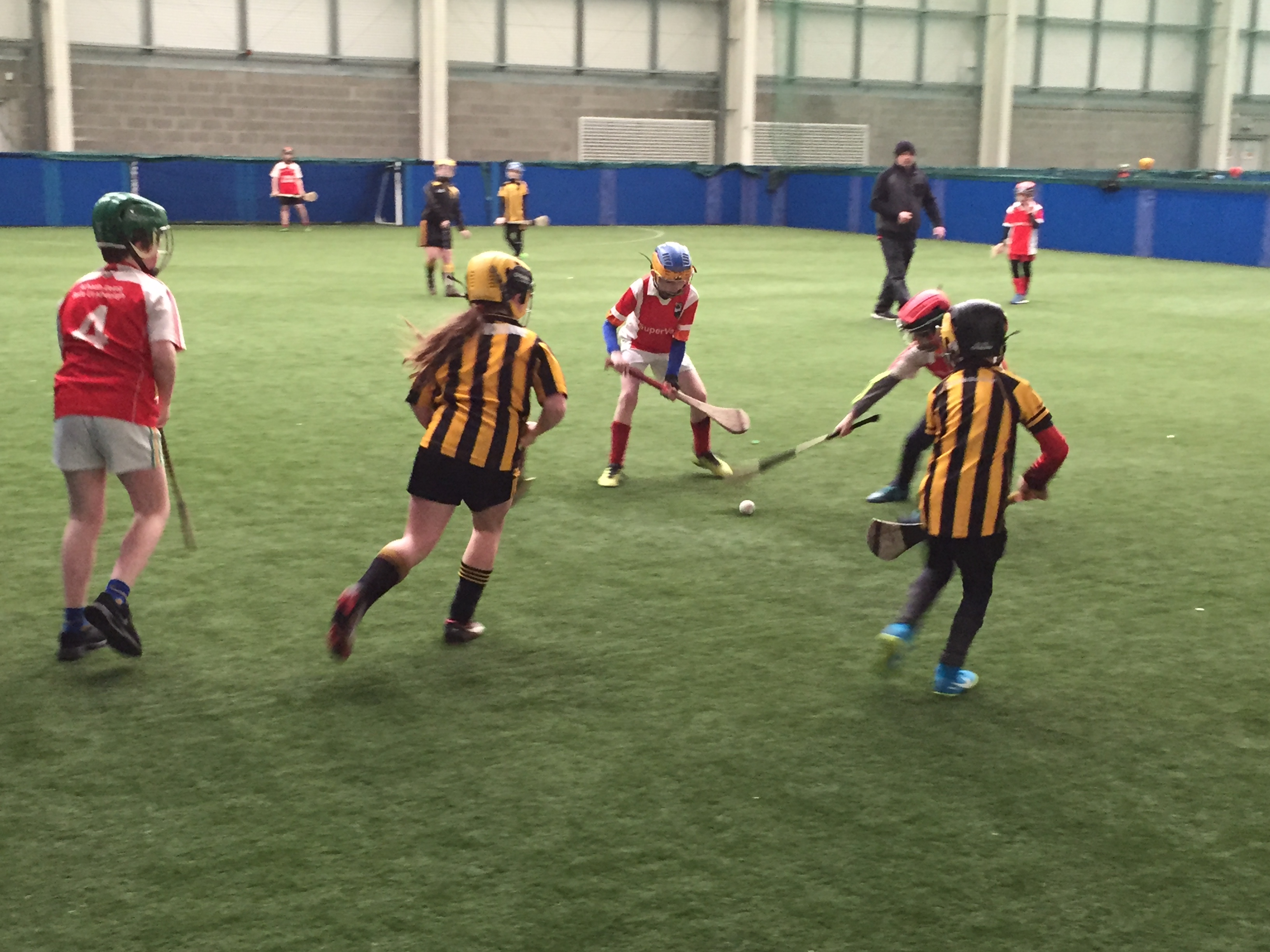 Ulster GAA's indoor hurling programme enables young Hurlers to enjoy the game