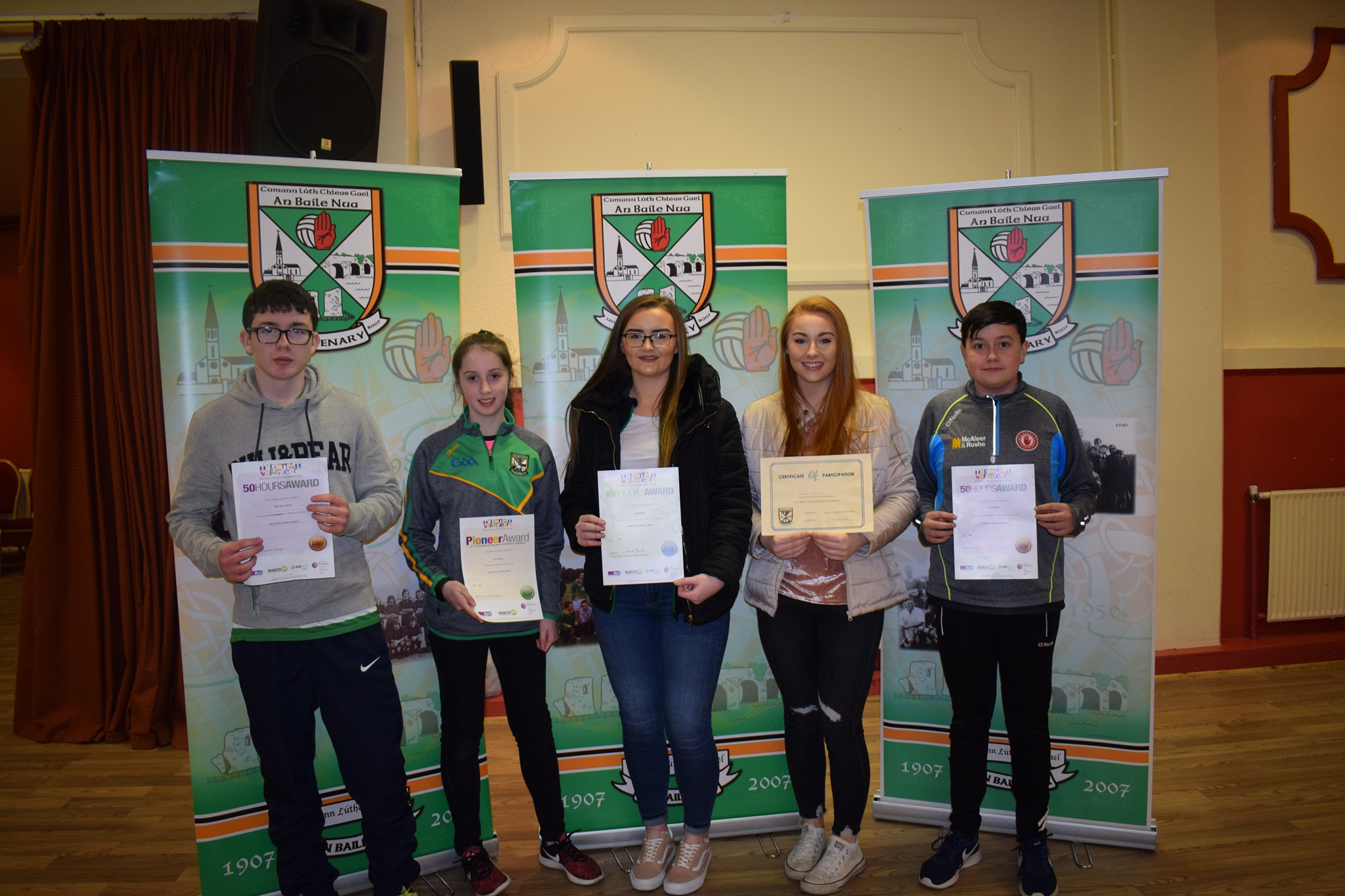 Volunteering efforts of young people recognised with GoldMark Award