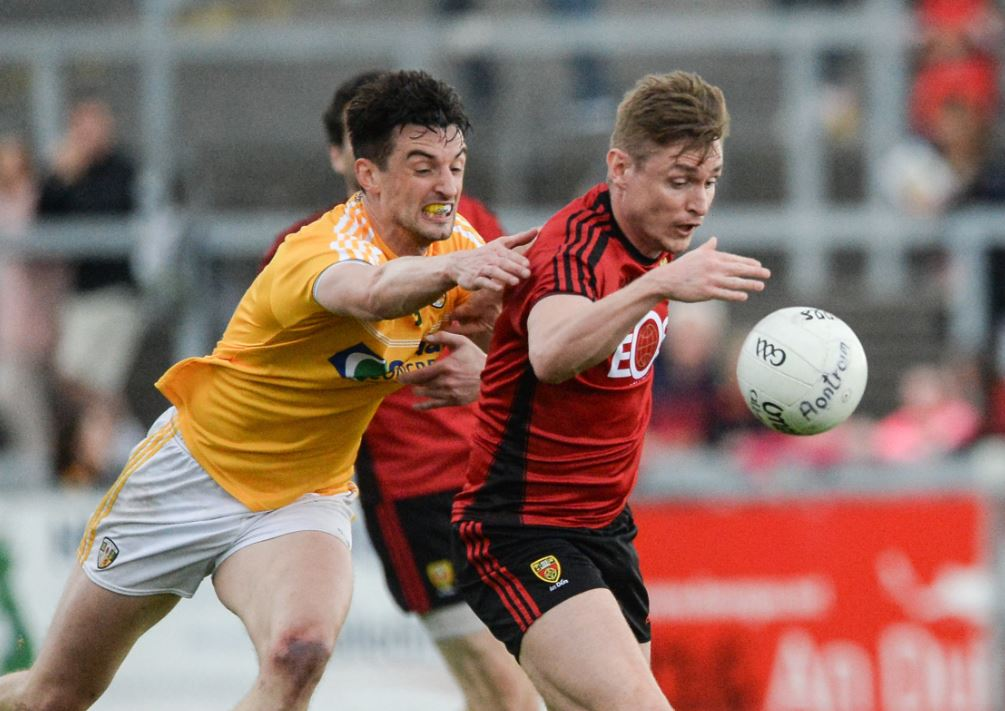 Down too good for Antrim in Ulster SFC Quarter Final