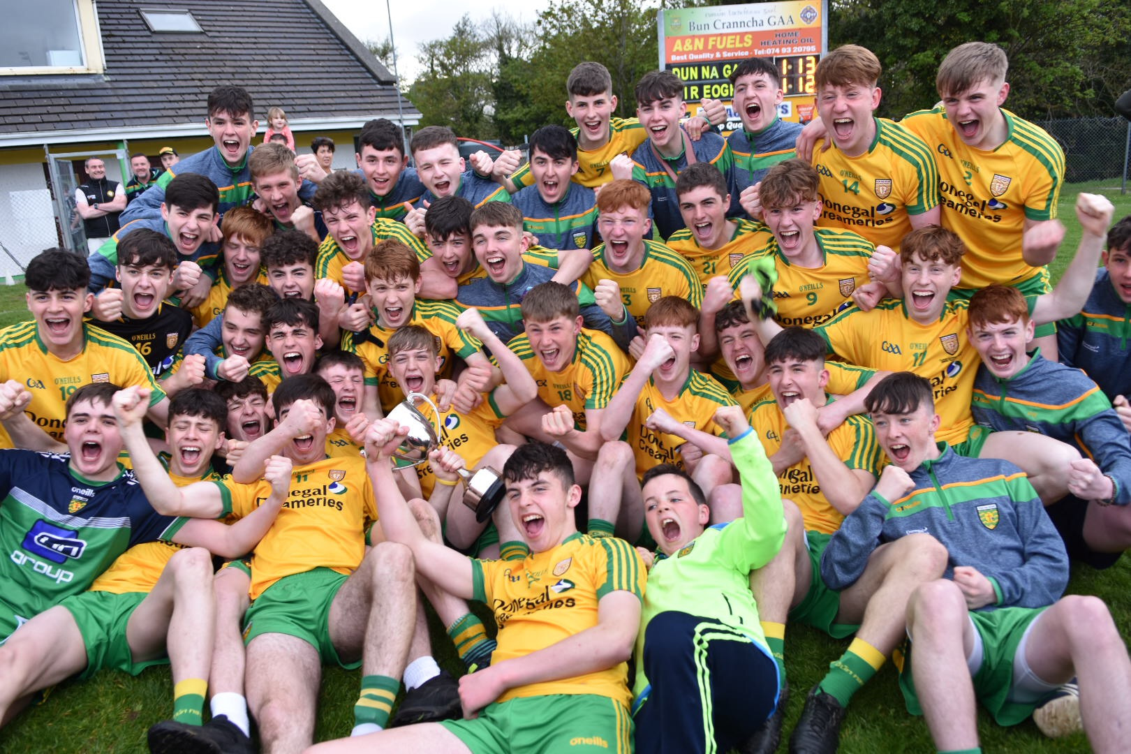 Donegal win Buncrana Cup Final