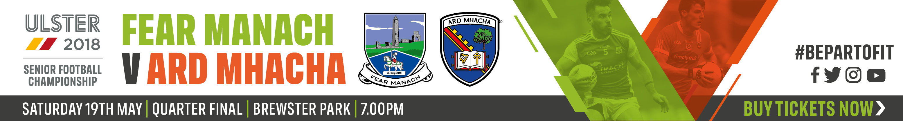 Ulster Senior Championship QF - Fermanagh v Armagh