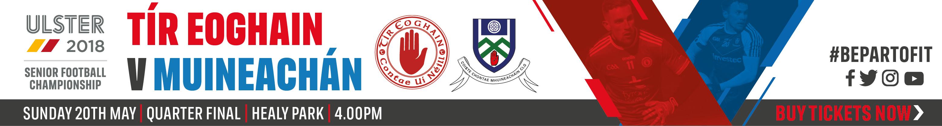 Ulster Senior Championship QF - Tyrone v Monaghan