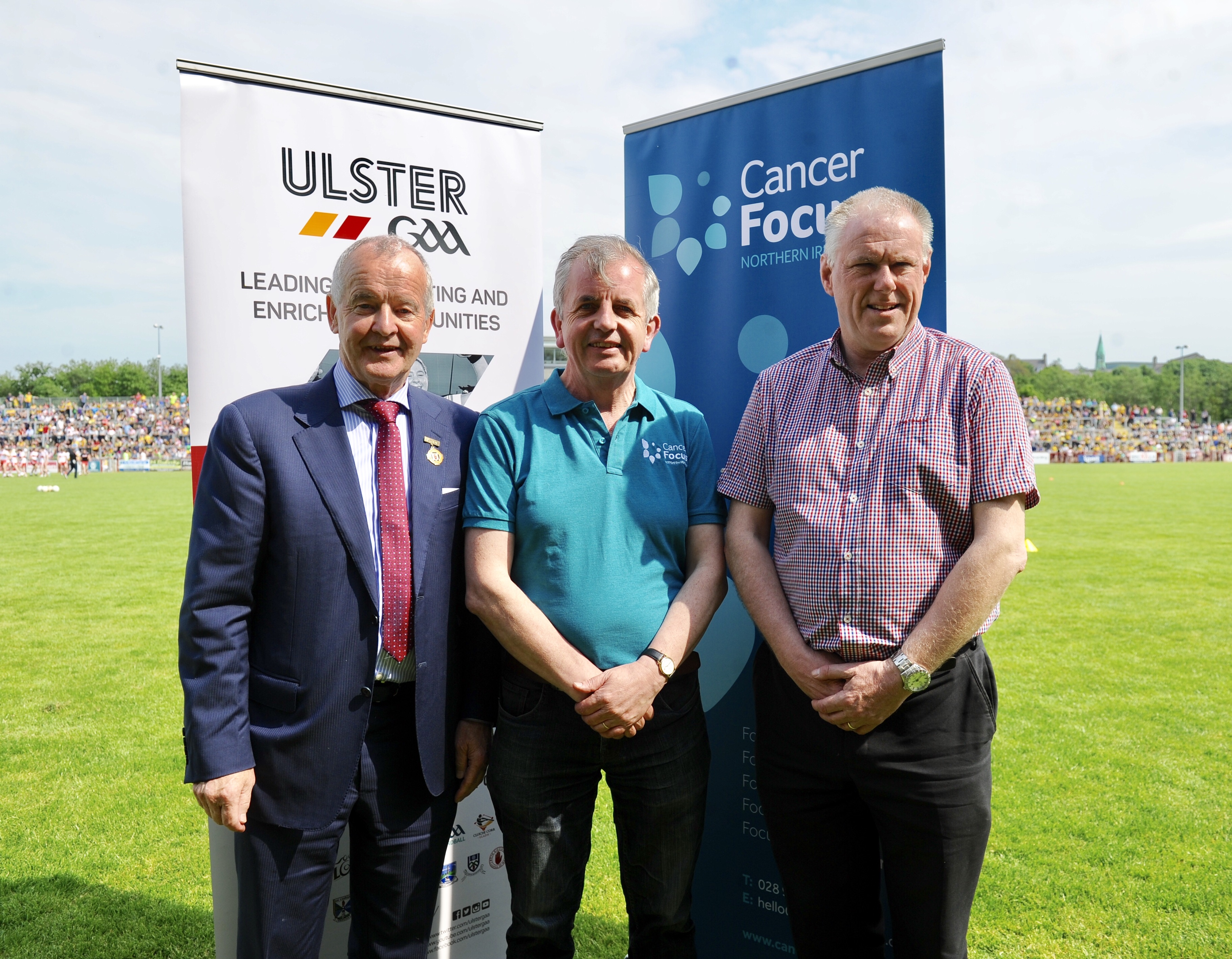Ulster GAA announce Cancer Focus NI as their Charity Partner 2018