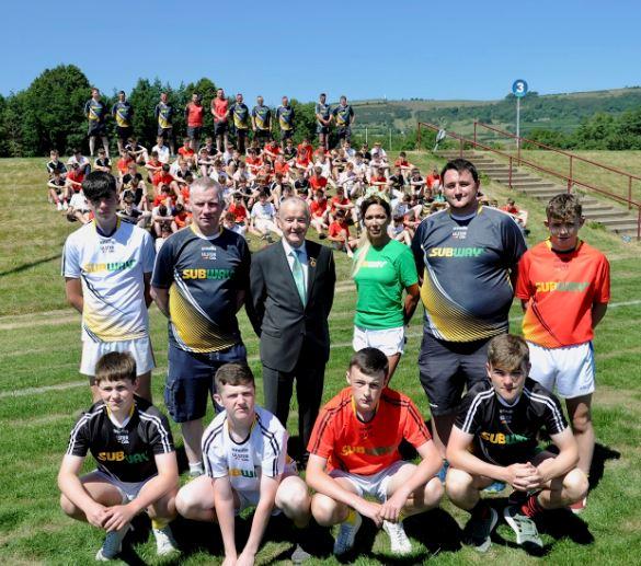 Ulster GAA Subway Player Academy 2018
