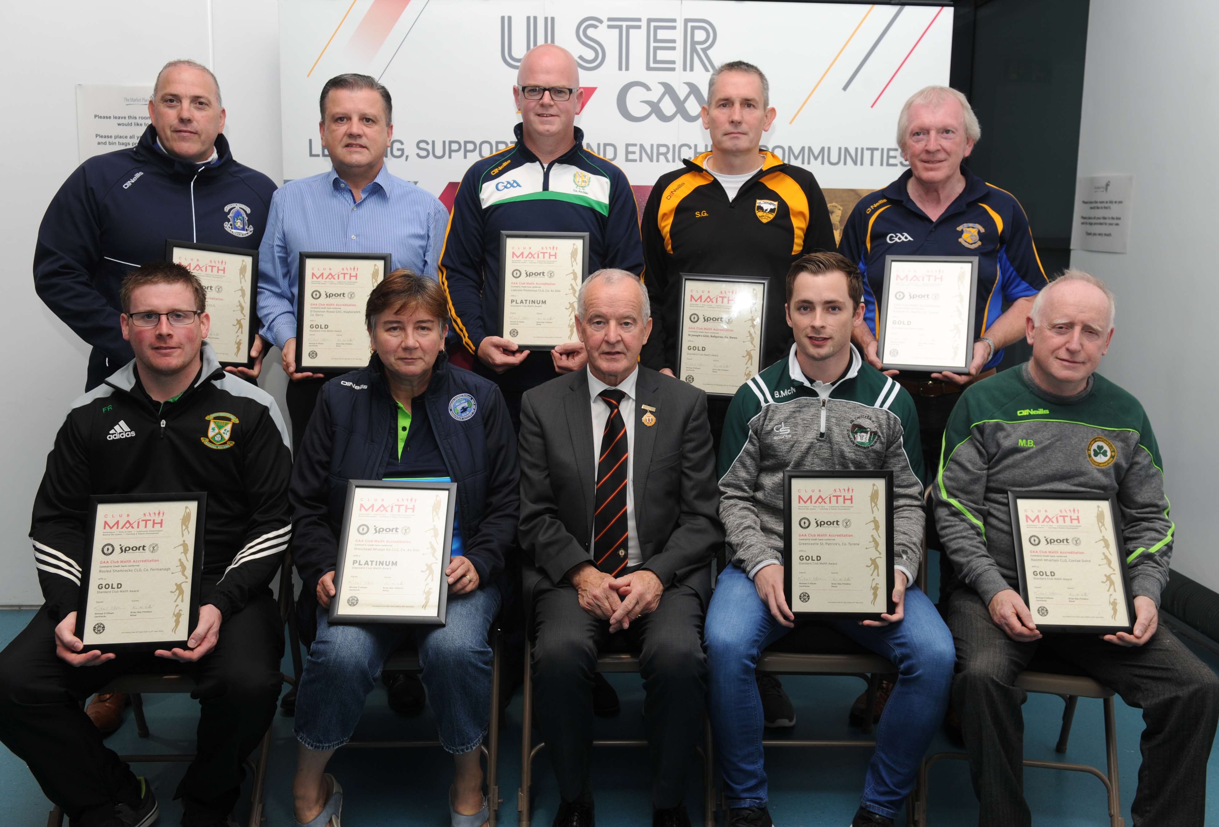 Nine clubs across Province achieve Club Maith accreditation