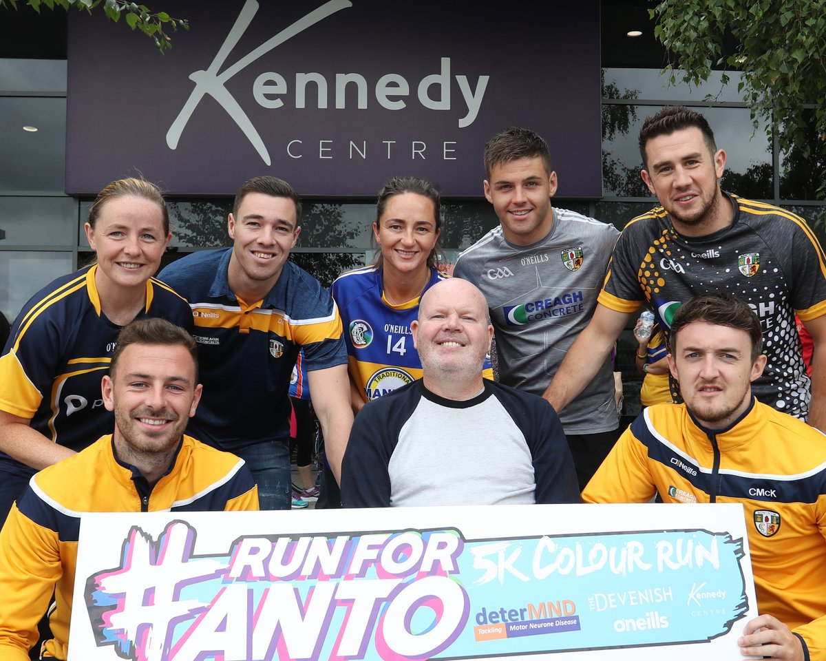 Antrim GAA fundraiser for Motor Neurone Disease research