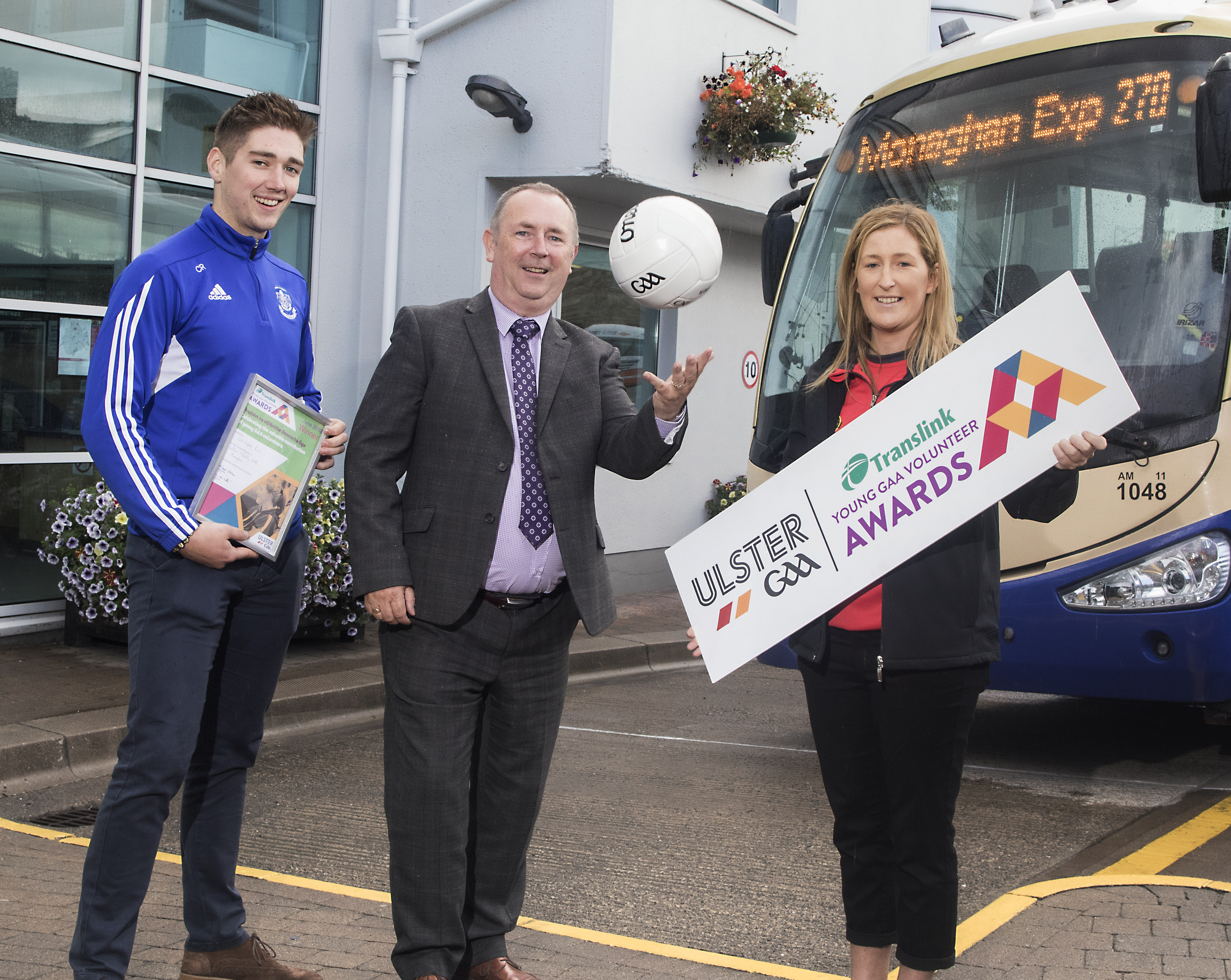 Club Captain is Translink Ulster GAA Volunteer of the Month