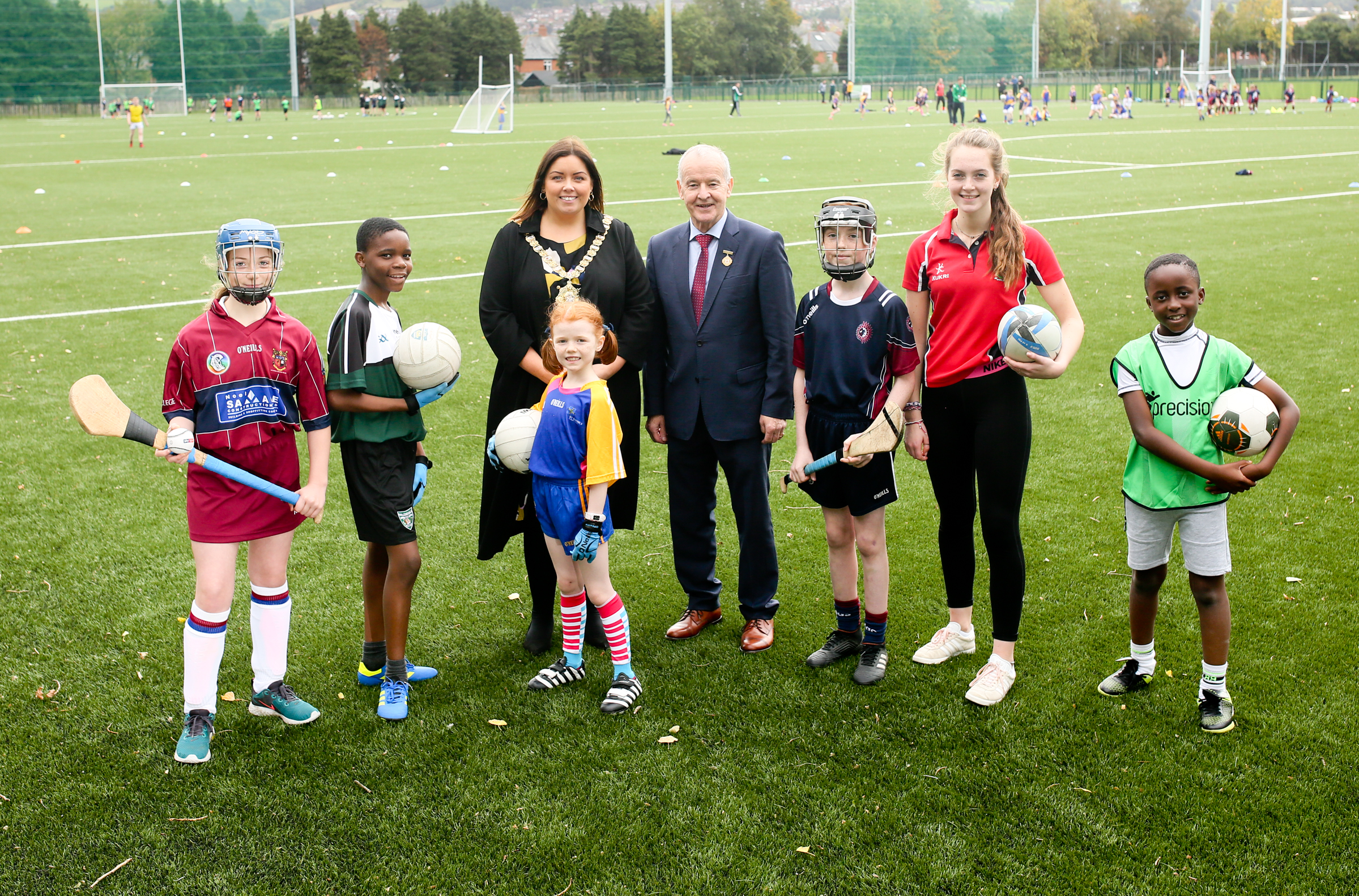 GAA contributes to Belfast pitches improvement strategy