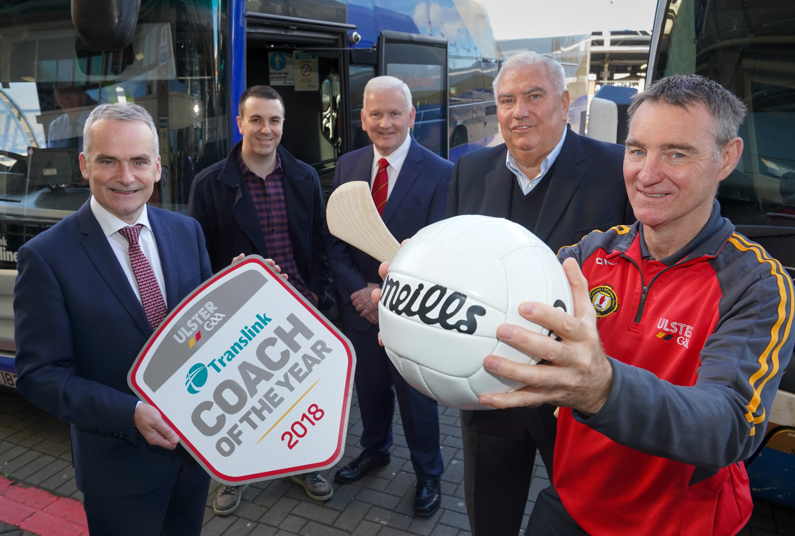 Nominate your coach for the Translink Ulster GAA Coach of the Year award