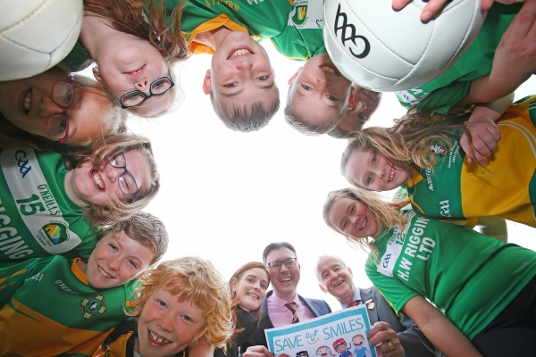 Ulster GAA launch Save Our Smiles campaign