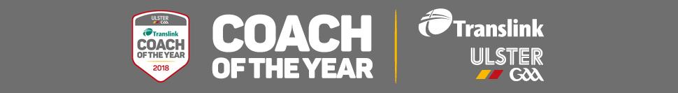 Translink Ulster GAA Coach of the Year 2018