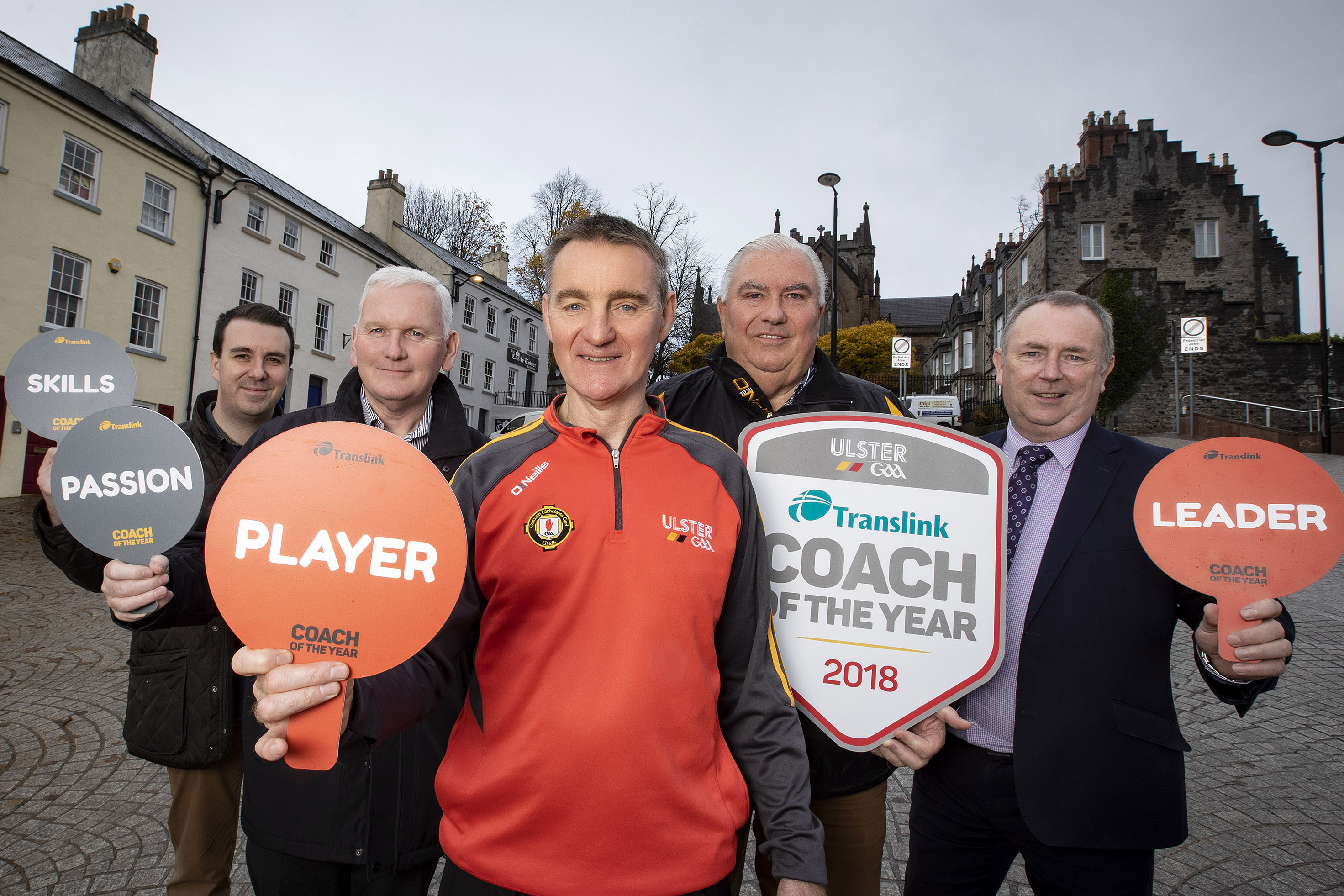 Ulster GAA 'Coach of the Year' finalists are on cloud nine