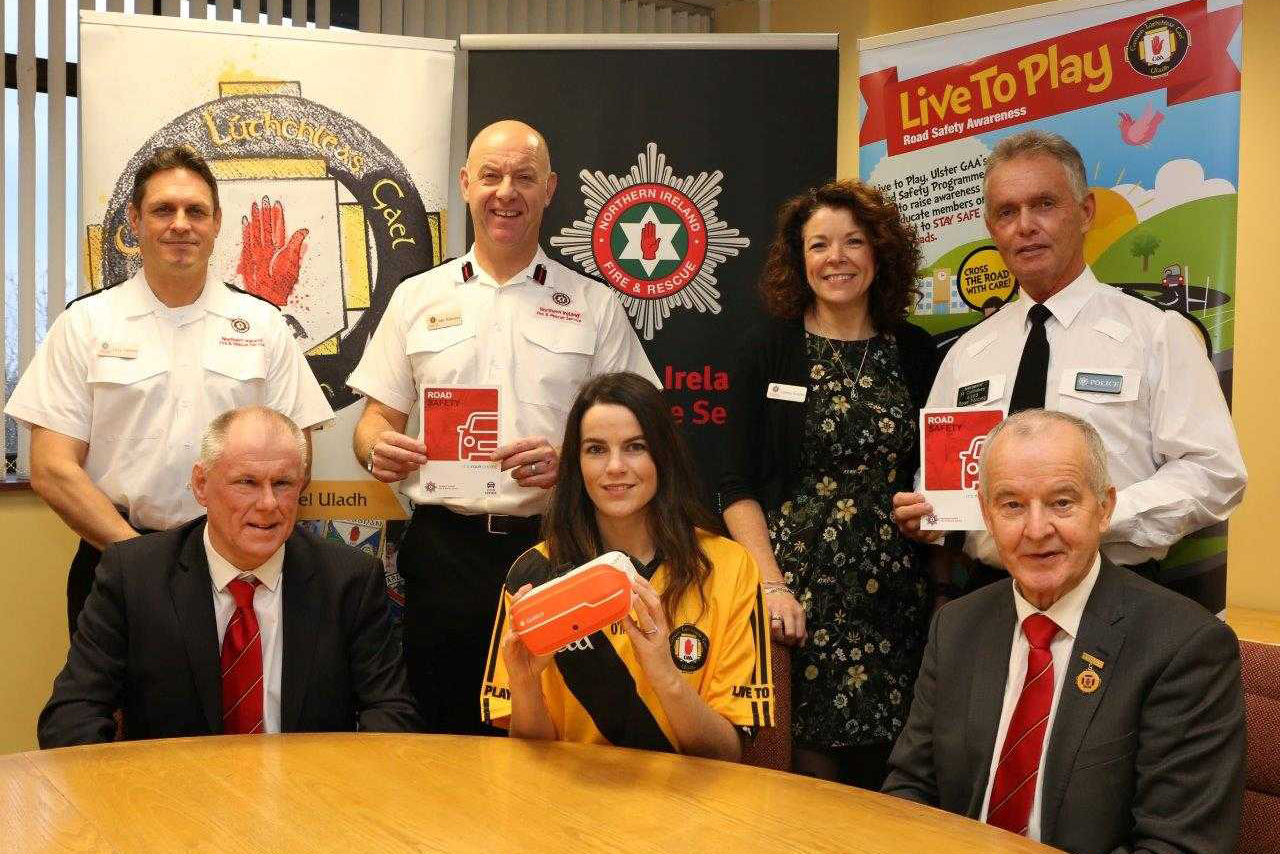 Ulster GAA and NIFRS launch new road safety partnership