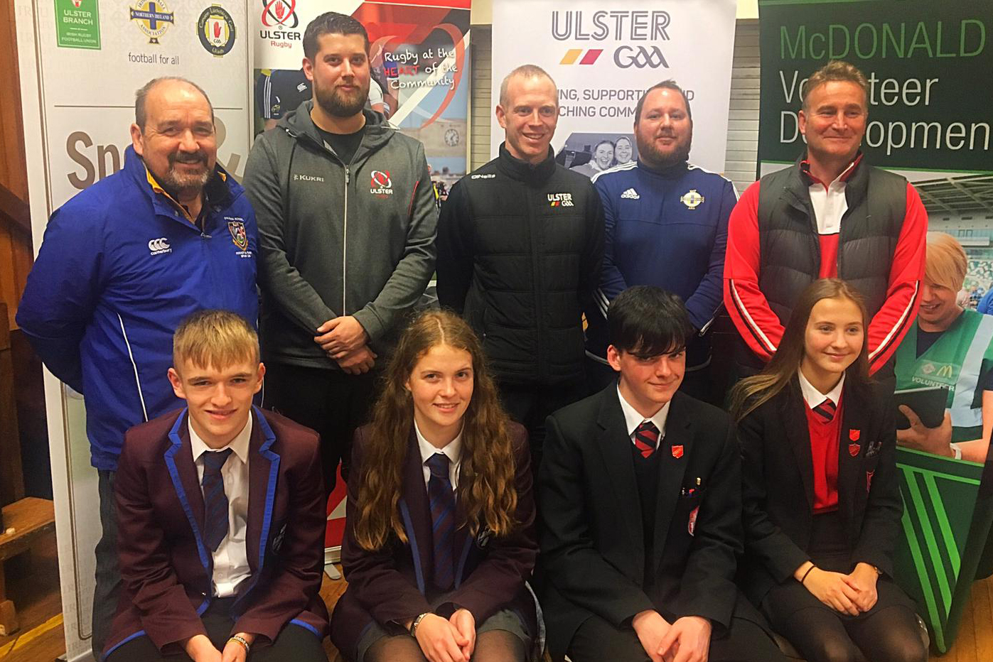 Multi-Sport Schools Roadshow Inspires Youth Volunteering