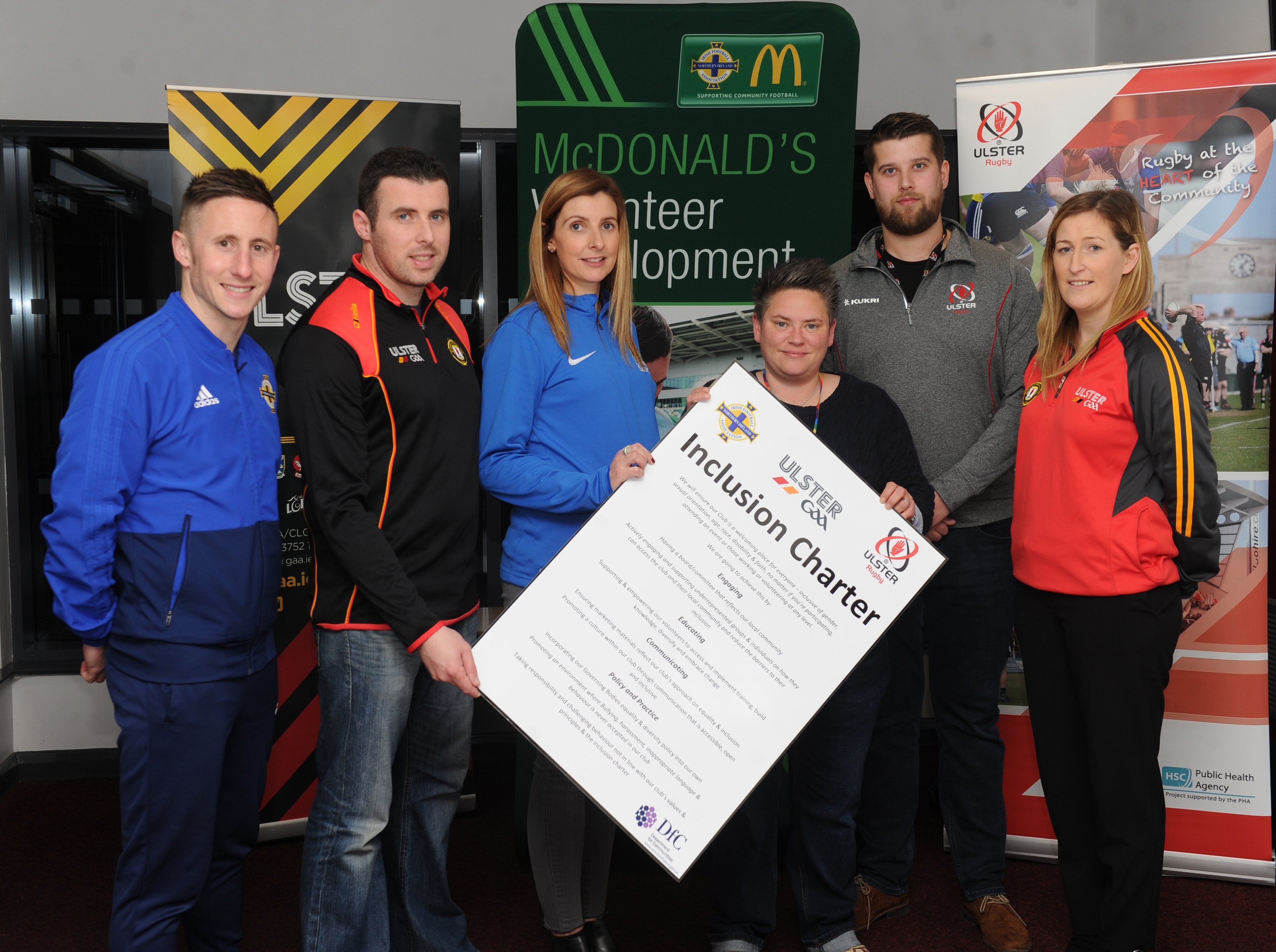 Ulster GAA take part in Multi-Sport Volunteer Forum