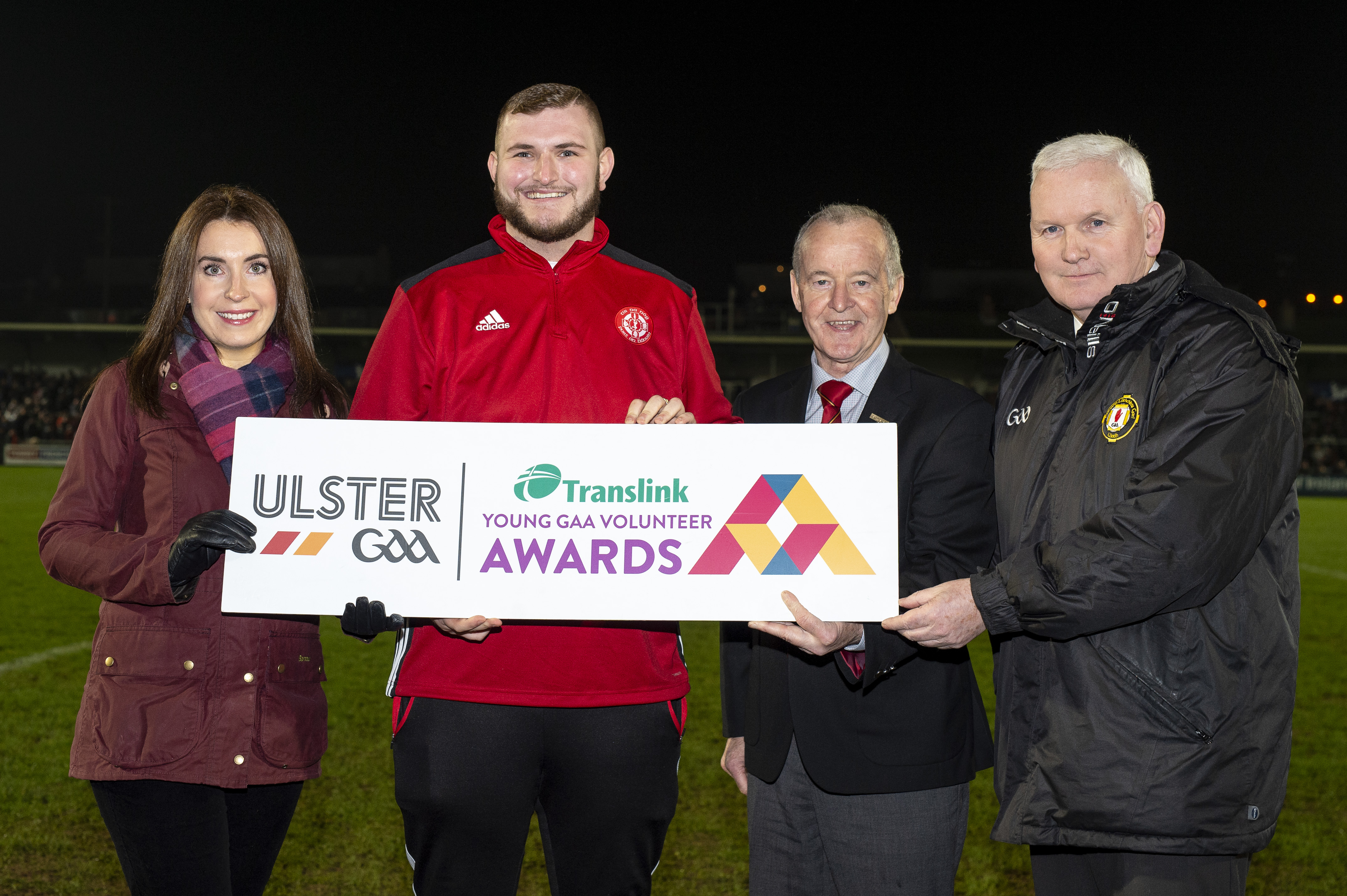 Budding reporter awarded Translink Young GAA Volunteer of the Year