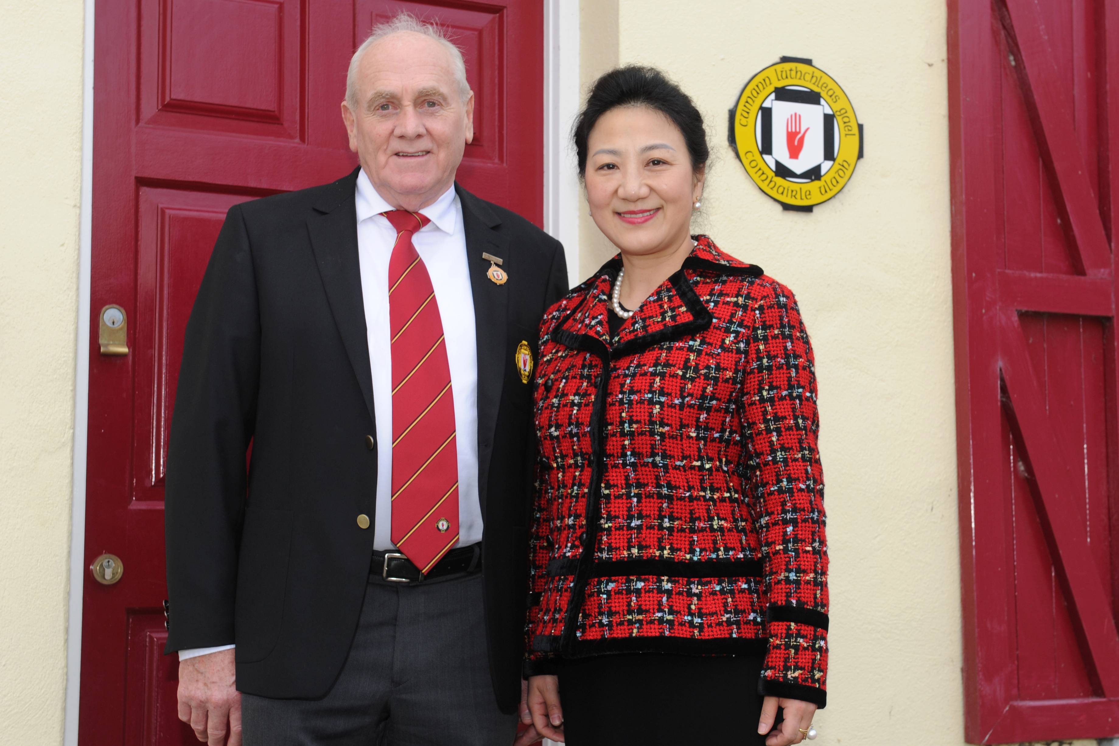 Ulster GAA host Chinese Consul General at Armagh