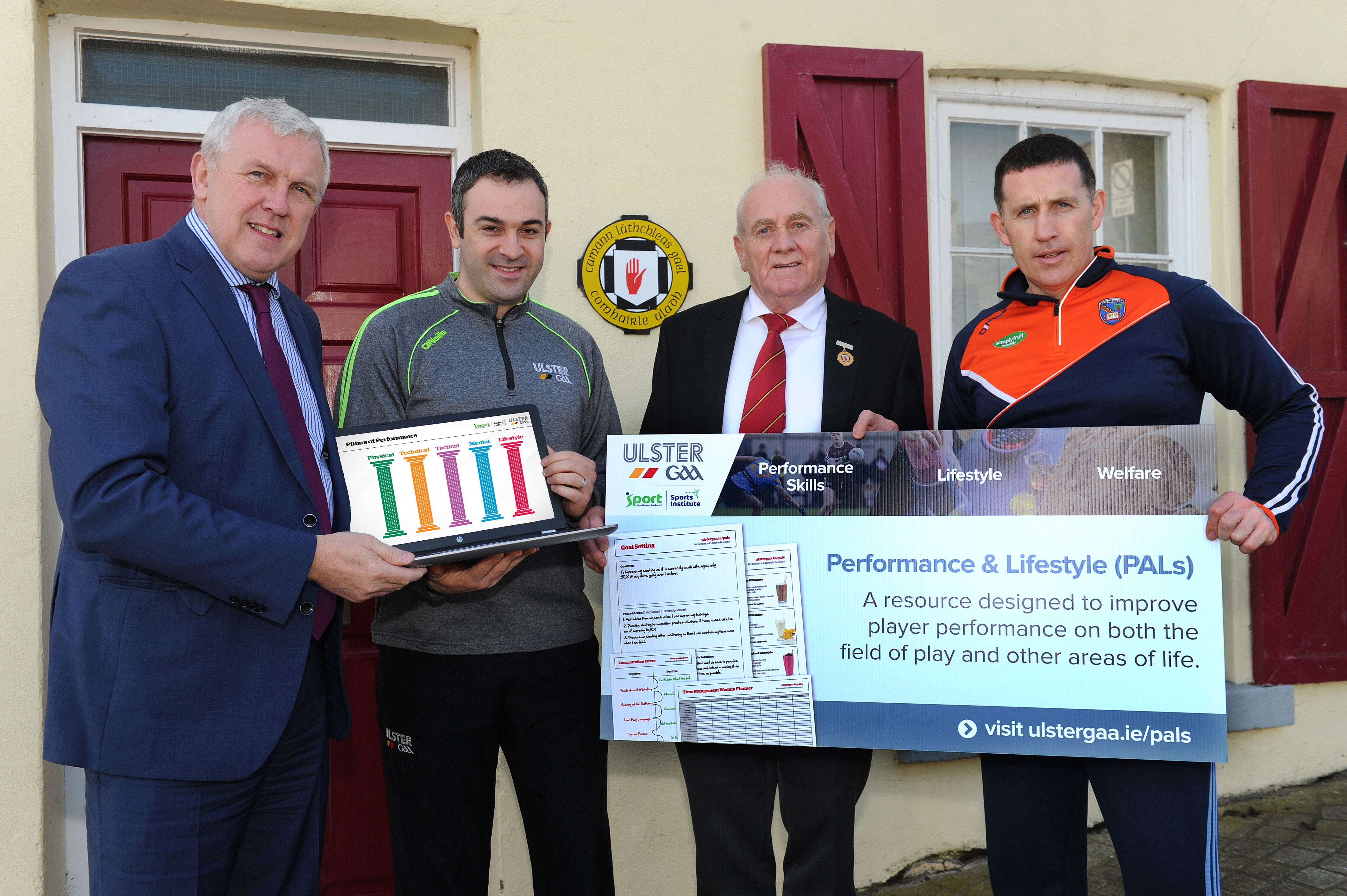 Ulster GAA launch Performance and Lifestyle website