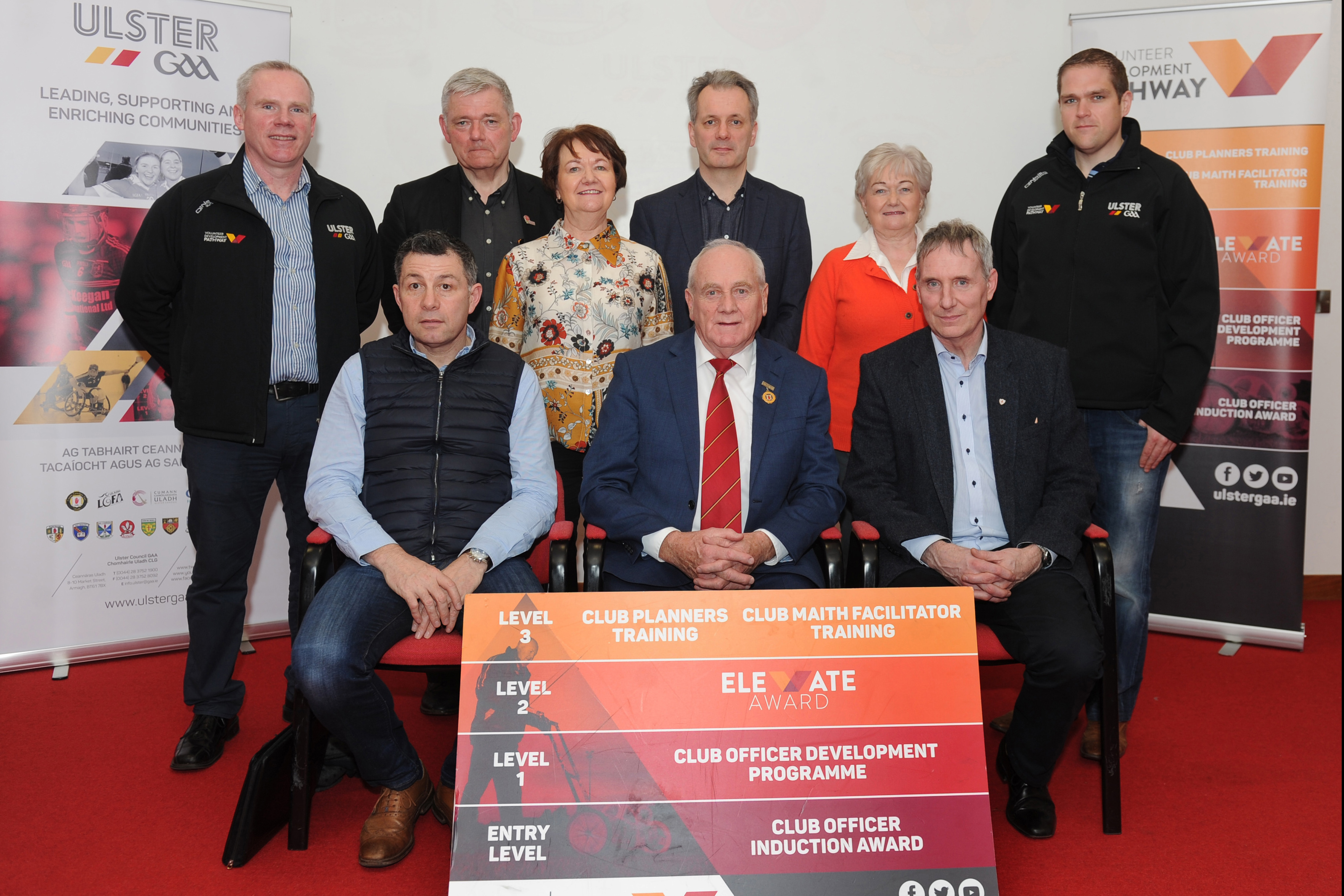 Magnificent Seven clubs achieve Elevate Award