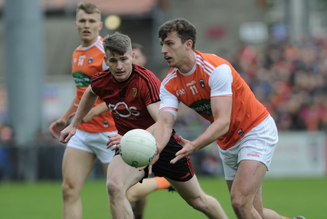Armagh advance in classic Ulster Senior Championship clash at Páirc Esler