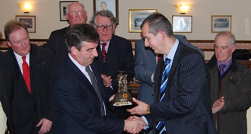 GAA welcomes Minister to Pairc Esler