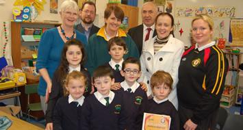 Education Minister visits Rathlin PS
