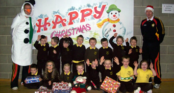 Santa Comes Early for P1 Children in County Down