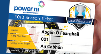McKenna Cup Competition Ticket
