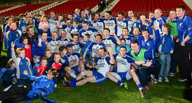 Ballinderry collect third Ulster Club title