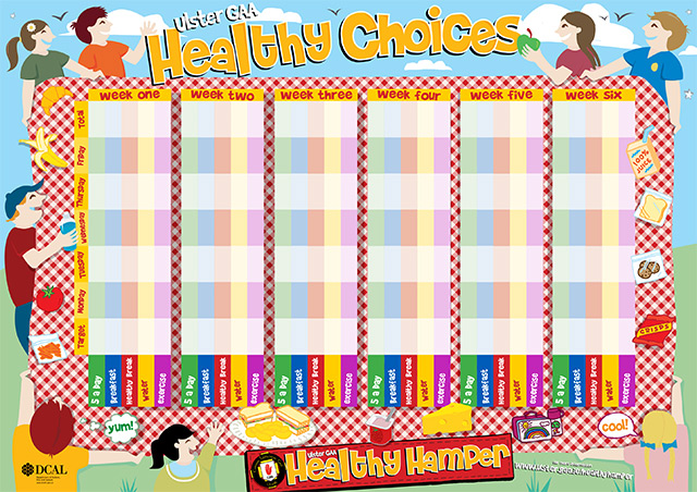 Healthy Hamper Wallplanner