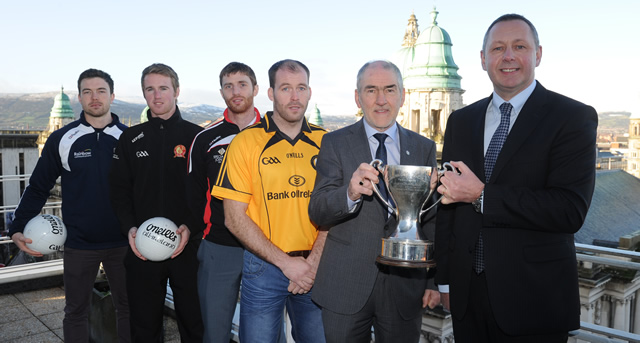 Bank of Ireland Dr. McKenna Cup ready to throw in for 2015