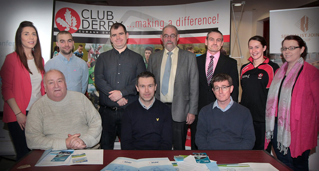 Derry GAA Health & Wellbeing Committee Launched