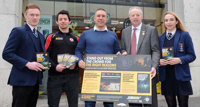 Ulster GAA and Subway 'Stand Out from the Crowd'