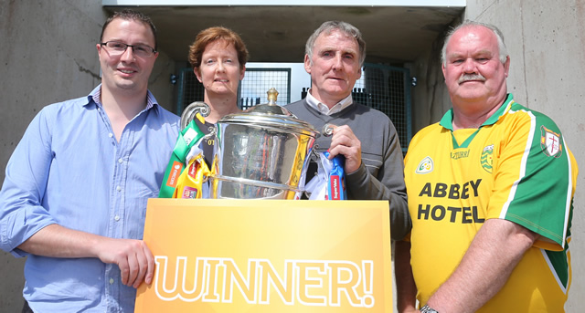 Supporters celebrated with 'Golden Ticket' prizes
