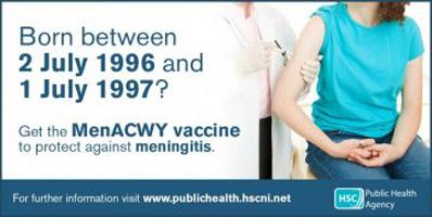 School leavers urged to get new meningitis vaccine