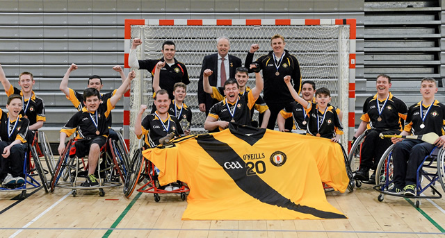 Ulster Wheelchair Hurlers are All-Ireland League & Championship Winners