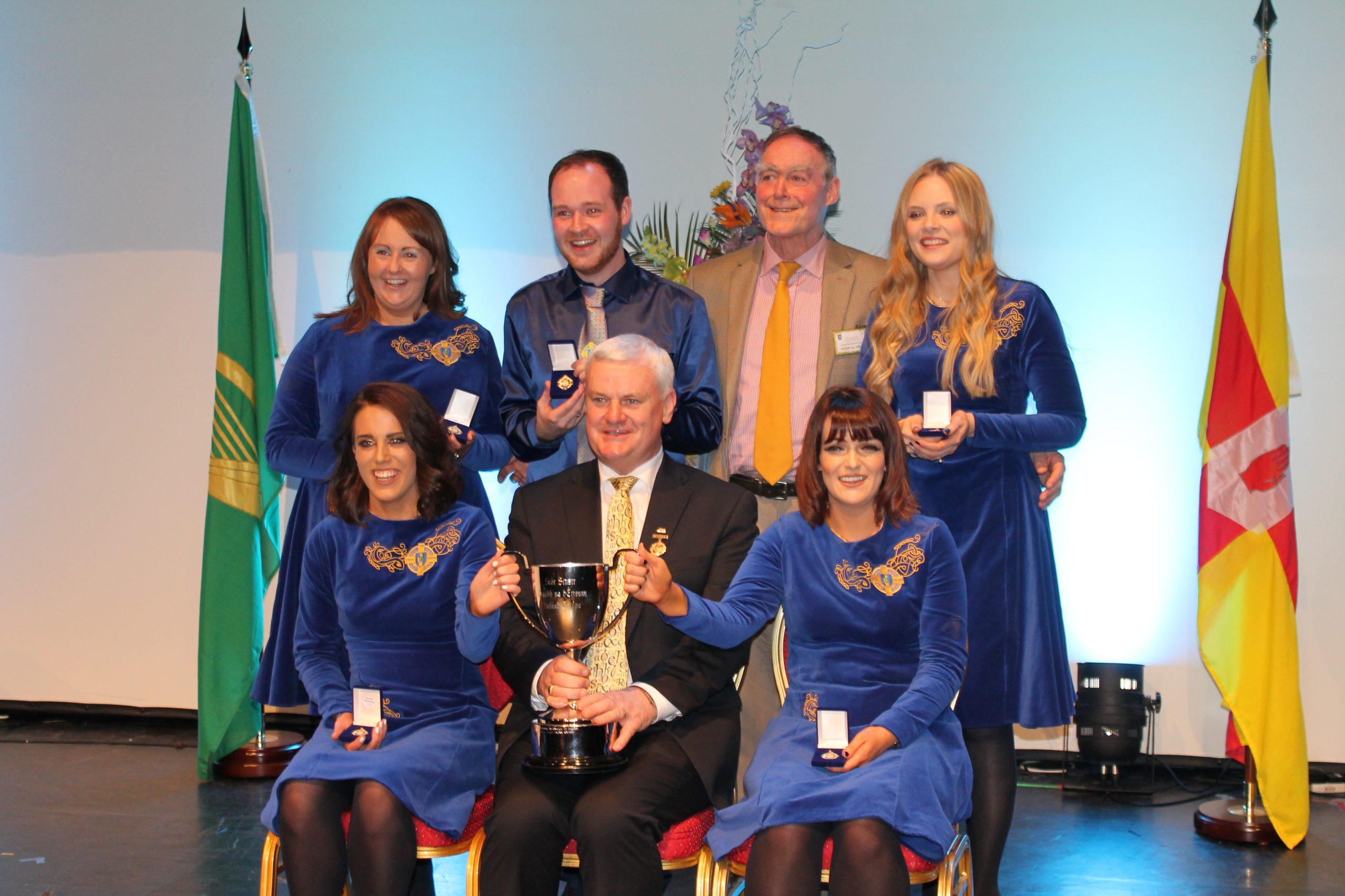 Ulster Winners at All-Ireland Scór Sinsear Finals 2016