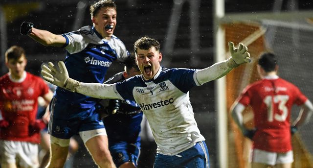 Monaghan defeat Tyrone in Ulster U21 Championship Final
