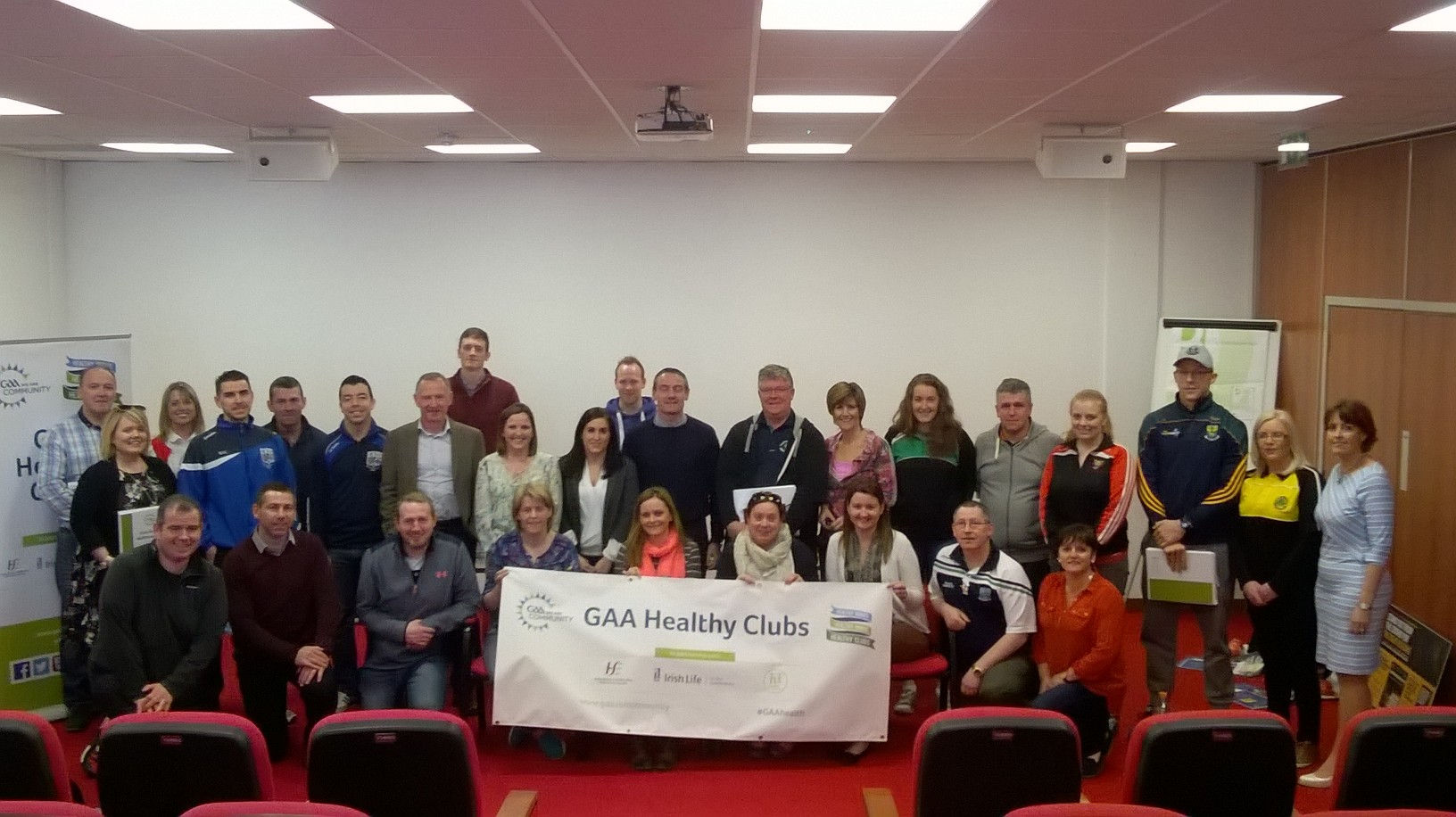 Ulster Health Committee meets Ulster Healthy Clubs
