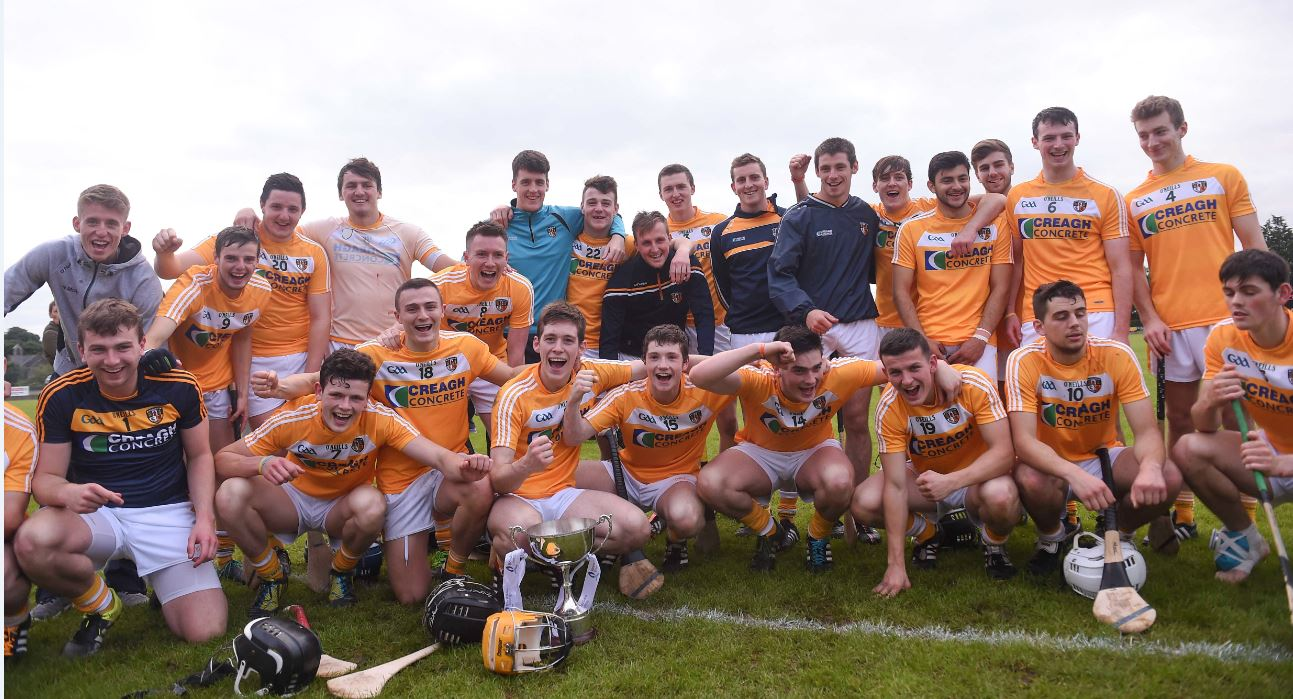 Antrim win Ulster U21 Hurling Championship for 8th year in a row