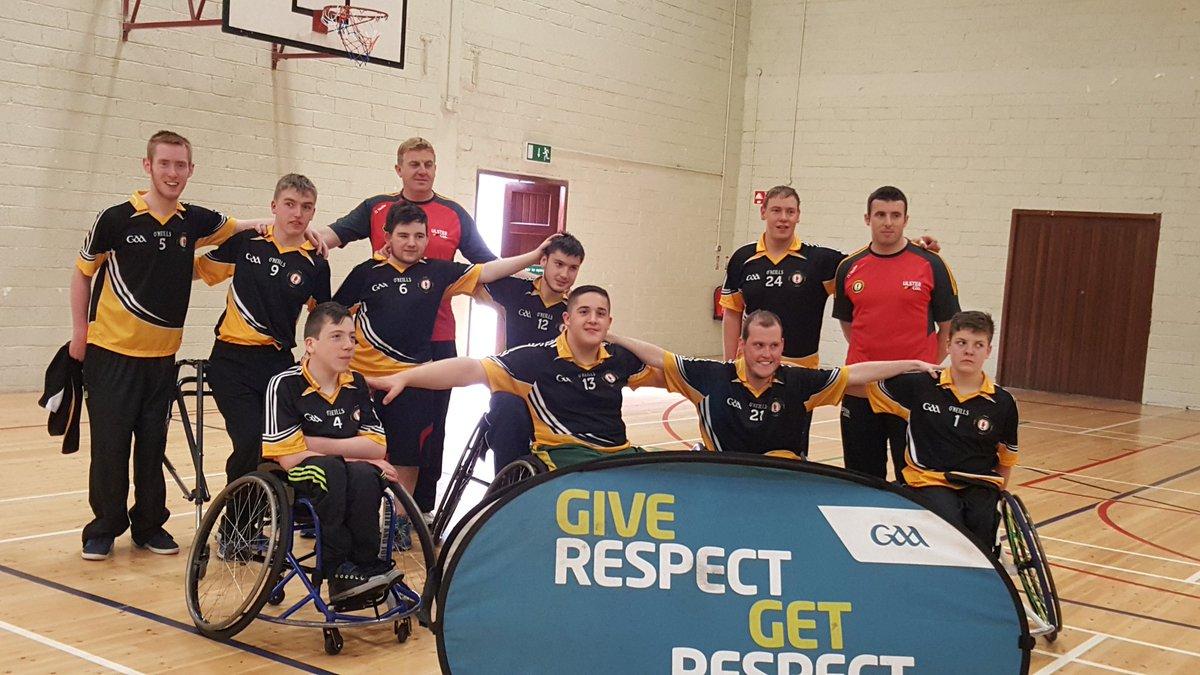 Ulster GAA wheelchair hurlers retain All-Ireland title