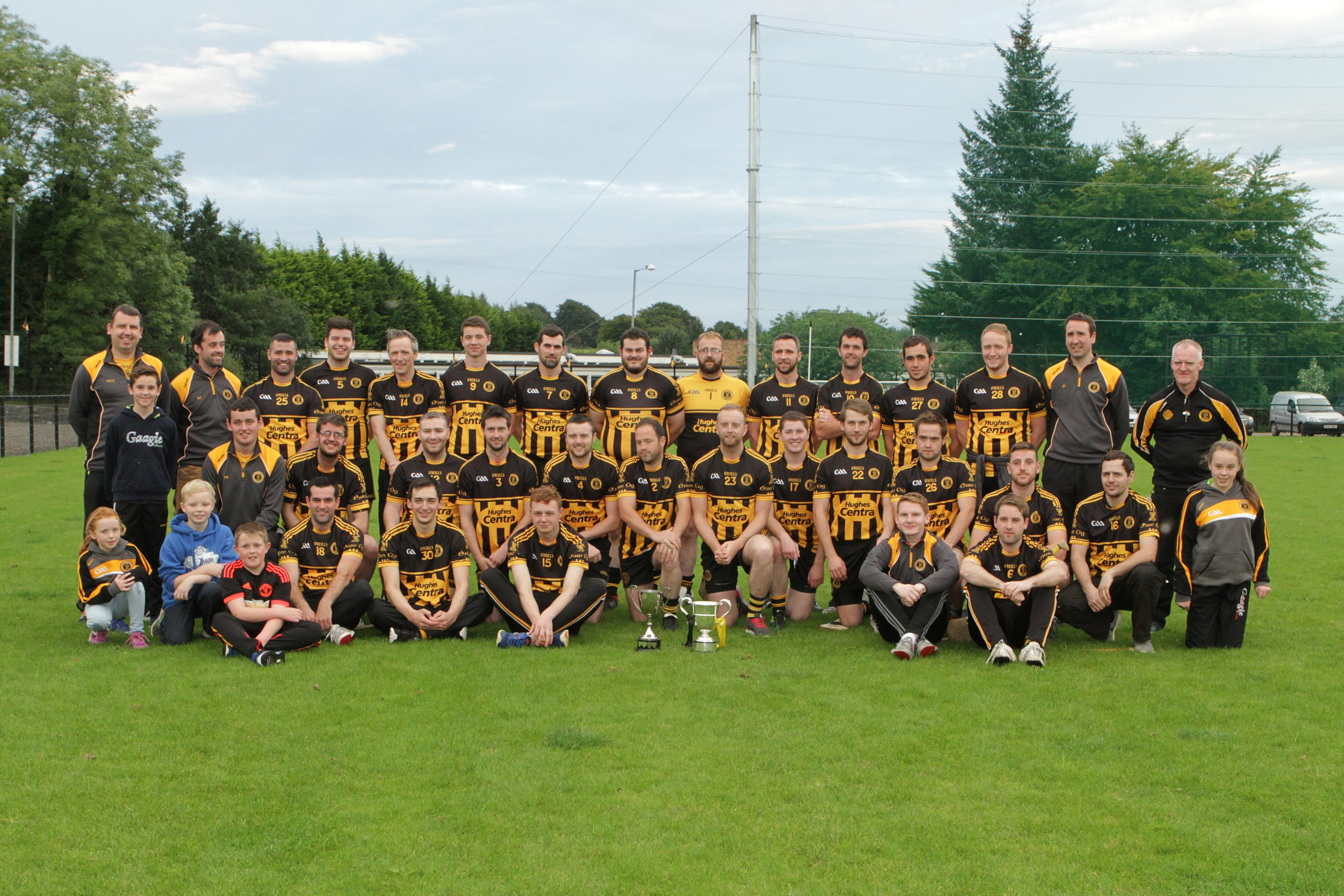 Éire Óg Win Ulster Senior Hurling Táin Club League Title