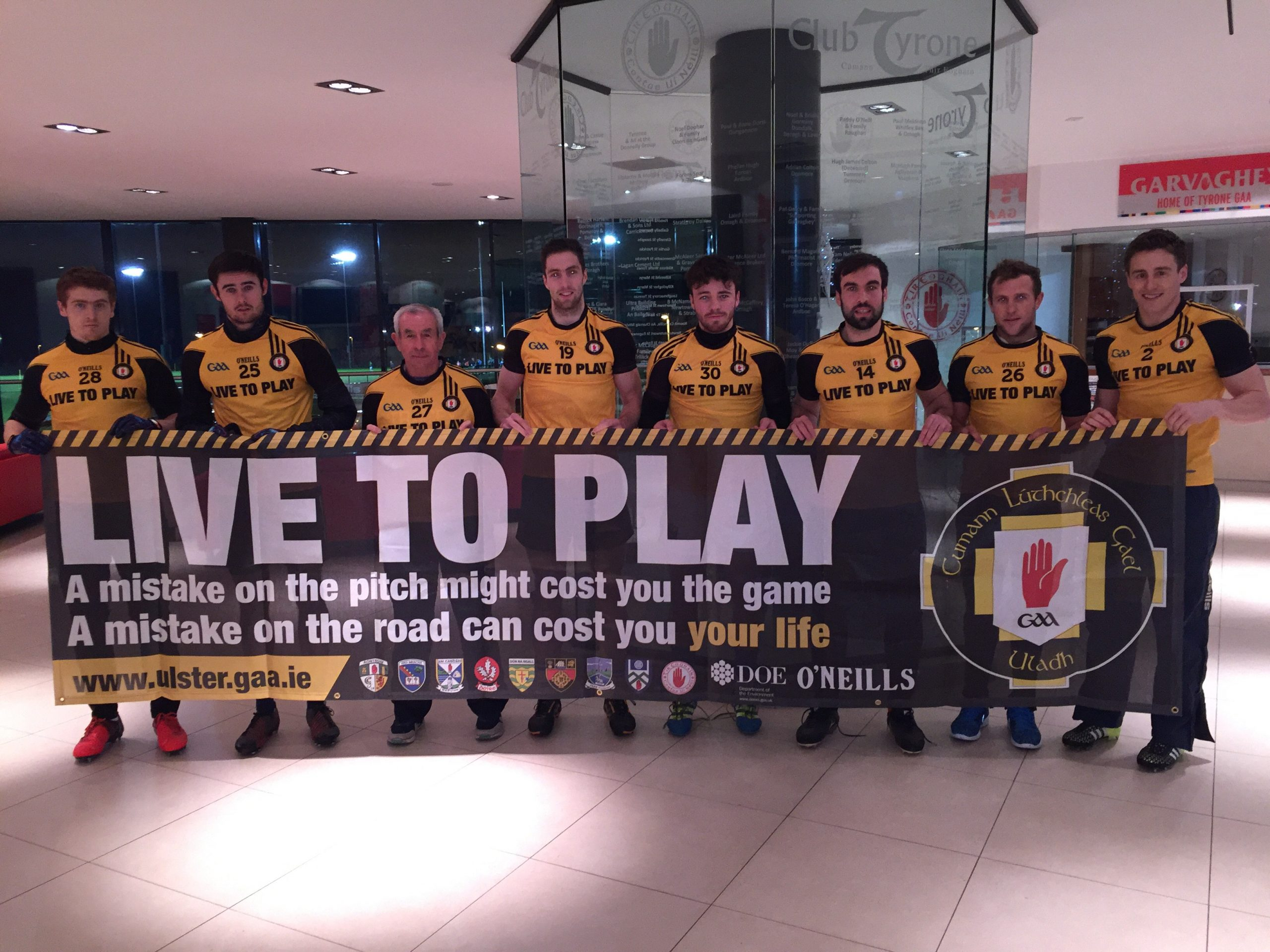A Christmas Message from Ulster GAA'S Live to Play Campaign